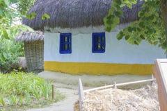 Traditional romanian house Stock Photo