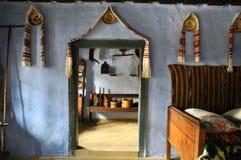 Traditional romanian house interior, Transylvania Stock Photo
