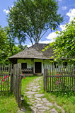 Traditional romanian house, Neamt region Stock Image