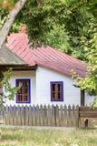 Traditional romanian house Stock Photos