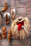 Traditional romanian masks Royalty Free Stock Photo