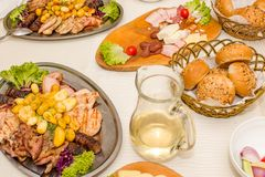 Free Traditional Romanian Meal Royalty Free Stock Image - 71911126
