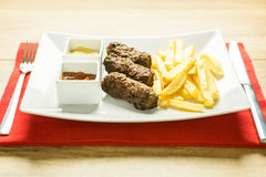 Traditional Romanian Mici Royalty Free Stock Photo