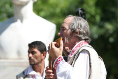 Traditional Romanian musicians Royalty Free Stock Photo