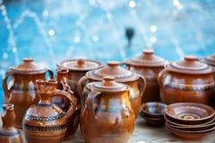 Traditional Romanian Pottery Royalty Free Stock Photo