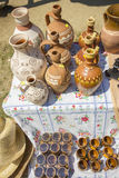 Traditional romanian pottery Royalty Free Stock Photos