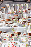 Traditional Romanian Pottery Royalty Free Stock Images