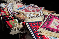 Traditional Romanian Rugs royalty free stock photos