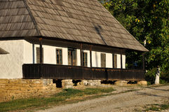 Traditional romanian rural house Stock Image