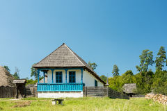 Traditional Romanian Village House Royalty Free Stock Photography