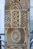 Traditional Romanian wood carving royalty free stock photography