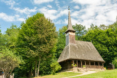 Traditional Romanian Wooden Church Royalty Free Stock Photos