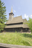 Traditional romanian wooden church Royalty Free Stock Images