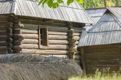 Traditional romanian wooden house Royalty Free Stock Image