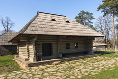 Traditional Romanian Wooden Rustic House