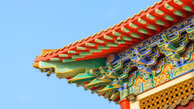 Traditional Roof Chinese style Royalty Free Stock Images