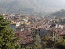 Free Traditional Rooftops In A Northern Italian Village Royalty Free Stock Photo - 108065975