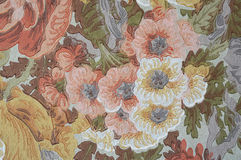 Floral Victorian Decor wall paint Royalty Free Stock Image