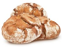 Free Traditional Round Rye Bread. Royalty Free Stock Photo - 100049115