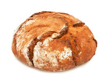 Traditional round rye bread. Royalty Free Stock Images