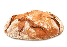 Traditional round rye bread. Stock Images