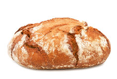 Traditional round rye bread. Royalty Free Stock Photography