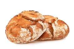 Traditional round rye bread. Stock Photography