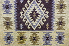 Carpet background. Traditional Moldavian rug - Romania Stock Photography