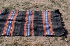 Traditional rug on Sofia, Bulgaria august 2016. Traditional rug on Sofia, Bulgaria Stock Images