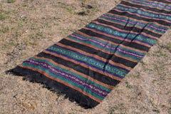 Traditional rug on Sofia, Bulgaria august 2016. Traditional rug on Sofia, Bulgaria Stock Photos