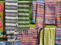 Traditional rugs Royalty Free Stock Photo
