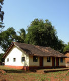 Traditional Rural Cottage. A beautiful scene of a traditional Indian cottage in a rural area Royalty Free Stock Photography