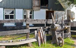 Traditional rural farmhouse Stock Images
