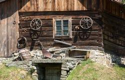 Traditional rural farmhouse Royalty Free Stock Photo