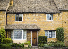 Traditional rural homes scene Stock Image