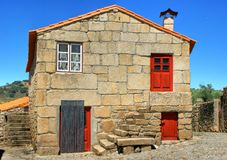 Traditional rural house of Marialva Royalty Free Stock Photography