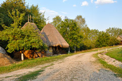 Traditional rural houses Stock Images
