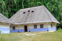Traditional rural wooden house Royalty Free Stock Photo