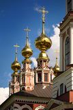 Traditional russian church Stock Images