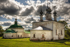 Traditional russian churches Stock Photos