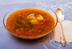 Traditional russian dish Royalty Free Stock Images