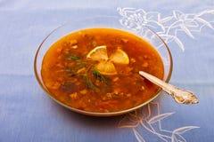 Traditional russian dish Stock Photo