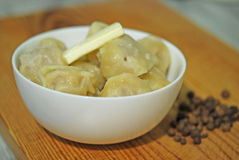 Traditional Russian dumplings Royalty Free Stock Images
