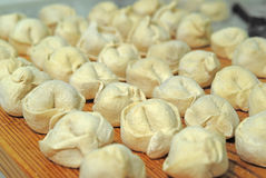 Traditional Russian dumplings Royalty Free Stock Photography