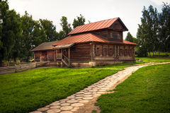 Traditional russian house Royalty Free Stock Photo