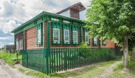 Traditional Russian loghouse Royalty Free Stock Image