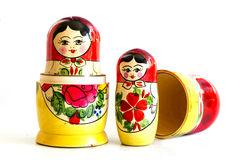 Traditional Russian matryoshka dolls Royalty Free Stock Images