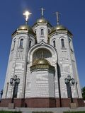 Traditional Russian orthodox church Stock Photo