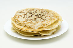 Traditional russian pancakes Royalty Free Stock Image
