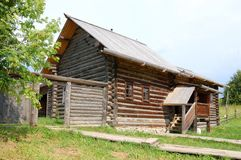Traditional russian rural house Royalty Free Stock Photography